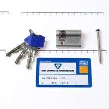 Afbeeldingen van Cilinder enkel 0/30 (bui./bin.) voorzien van SKG ***,  met certificaat en 3 sleutels