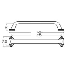 Afbeeldingen van HMB Afschrijfmal meerpuntsluiting voorplaat 1700mm