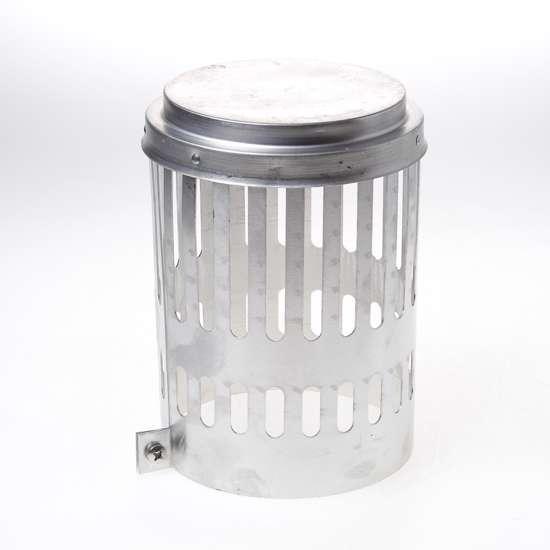 Afbeelding van Wit & Zoon Kraaiekap aluminium 150mm