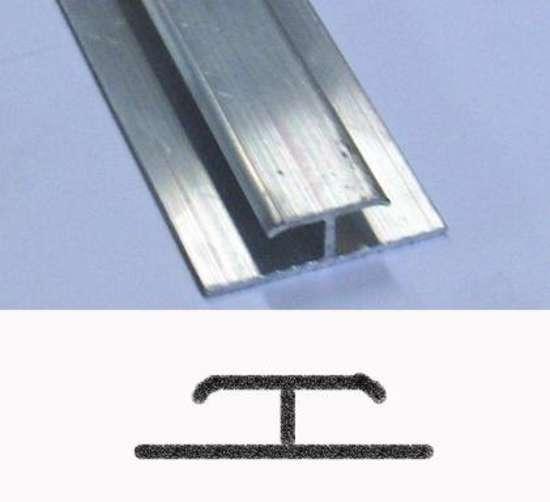 Afbeelding van Roval Koppelprofiel aluminium 20 x 4 x 40mm