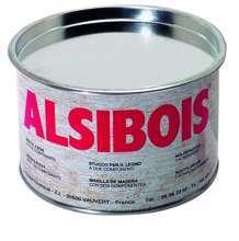 Afbeeldingen van Alsibois Houtvulmidel 2K 0.4 liter meiranti