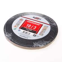 Afbeeldingen van Afdichtingsband zwart op rol van  10 meter, afmeting 10mm, voor voegbreedte 3mm