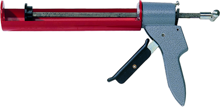 Afbeeldingen van Den Braven Zwaluw Kitpistool metaal HK 40 rood
