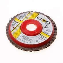 Afbeeldingen van Flexovit Vlaklamellenschijf FI FLD FDSP diameter 110 x asgat 22mm P80