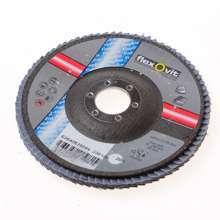 Afbeeldingen van Flexovit Lamellenschijf diameter 125 x asgat 22mm P60