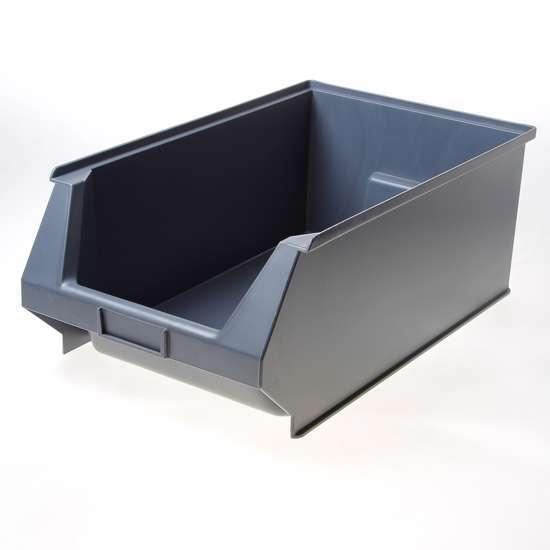 Afbeelding van Stapelbak PVC 500x300 p4 grijs