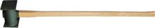Afbeeldingen van Tuinhamer ijzeren steel 90cm hamer 30 x 12cm