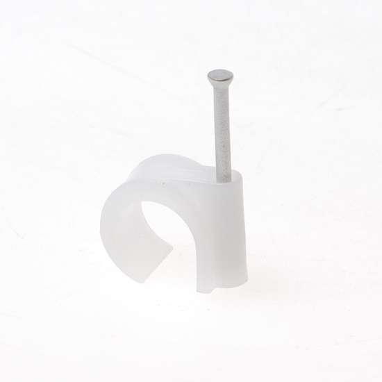 Afbeelding van Mepac spijkerclips 16/19mm wit