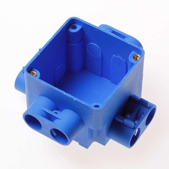 Afbeelding van Centraaldoos blauw 16mm