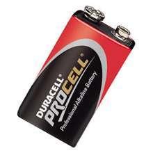 Afbeeldingen van Duracell Batterij stapel 9.0v pc1604 blister van 10 batterijen