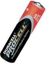 Afbeeldingen van Duracell Batterij potlood 1.5v aaa pc2400 blister van 10 batterijen