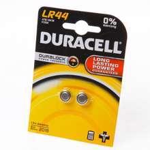 Afbeeldingen van Duracell Knoopcelbatterij lr44 LBL2 blister van 2 batterijen