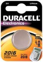 Afbeeldingen van Duracell Batterij plat 3v lithium cr2016