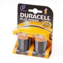Afbeeldingen van Duracell Batterij greece staaf 1.5v lr20 D blister van 2 batterijen