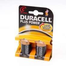 Afbeeldingen van Duracell Batterij Engelse staaf 1.5v lr14 C blister van 2 batterijen