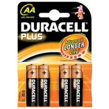 Afbeeldingen van Duracell Batterij penlite 1.5v lr6 aa blister van 4 batterijen