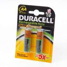 Afbeeldingen van Duracell Batterij duracell penlite oplaadbaar aa blister van 4 batterijen