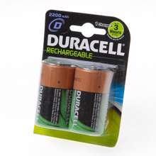 Afbeeldingen van Duracell Batterij GP oplaadbaar lr20 D blister van 2 batterijen