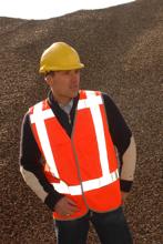 Afbeeldingen van Veiligheidsvest aldan RWS oranje maat L