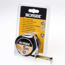 Afbeeldingen van Ironside Rolbandmaat chroom professioneel 5 meter x 25mm