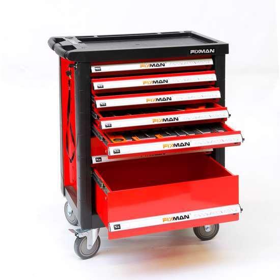 Afbeelding van Fixman gereedschapswagen 7-laden gevuld