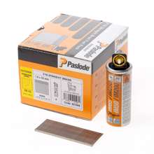 Afbeeldingen van Paslode afwerknagel roestvaststaal F16 x 32mm inclusief gas IM65 doos met 2000 nagels