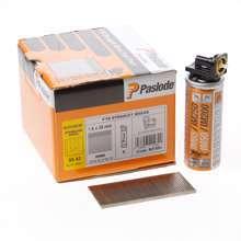 Afbeeldingen van Paslode afwerknagel roestvaststaal F16 x 38mm inclusief gas IM65 doos met 2000 nagels