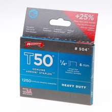 Afbeeldingen van Arrow hechtniet gegalvaniseerd T50 6mm
