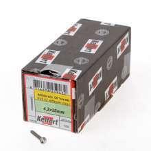 Afbeeldingen van Anti-inbraakschroef zelftappend RVS A2 4.2 x 25mm