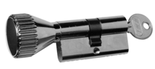Afbeeldingen van Knopcilinder corbin dubb.2x10 96260