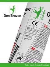 Afbeeldingen van Den Braven Hybrifix wit 290ml