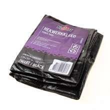 Afbeeldingen van Hekwerkkleed zwart 1.76x3.41m 150gr/m