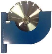 Afbeeldingen van Alum.stofkap tbv Dewalt 230 mm slijper