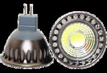 Afbeeldingen van LED spot 3W met prisma COB 3W 3000K