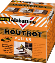 Afbeeldingen van Alabastine Houtrotvuller 1kg