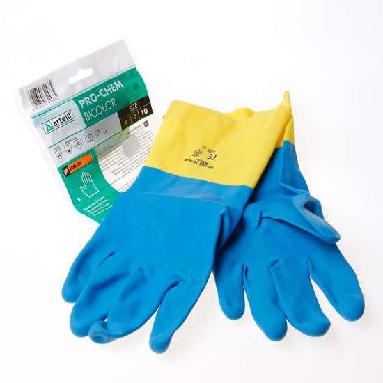 Afbeelding van Handschoen chemisch bestendig gelamineerd maat XL(10)