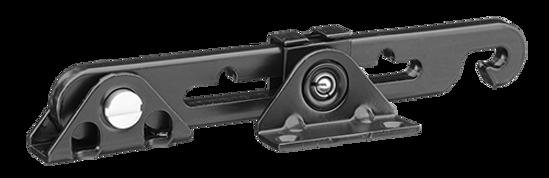 Afbeelding van SecuMax Raamuitzetter, type 721 - binnendraaiend - kleur zwart