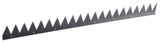 Afbeelding van SecuMax anti-klimstrip, vlak, van staal, kleur  zwart, lengte 1000mm, hoogte 85mm