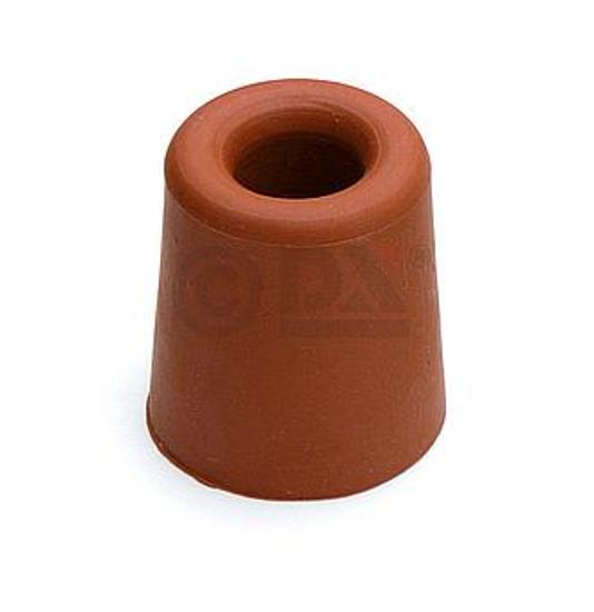 Afbeelding van DBR 33 BR Deurbuffer diameter 31x33mm rubber bruin 0522.133.1333