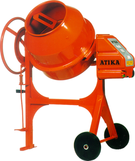 Afbeelding van Atika Betonmolen profi 145 liter 230V 322500